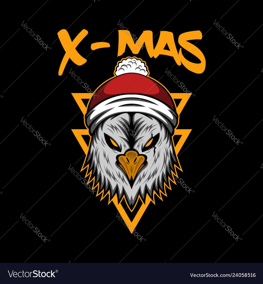 X mas eagle