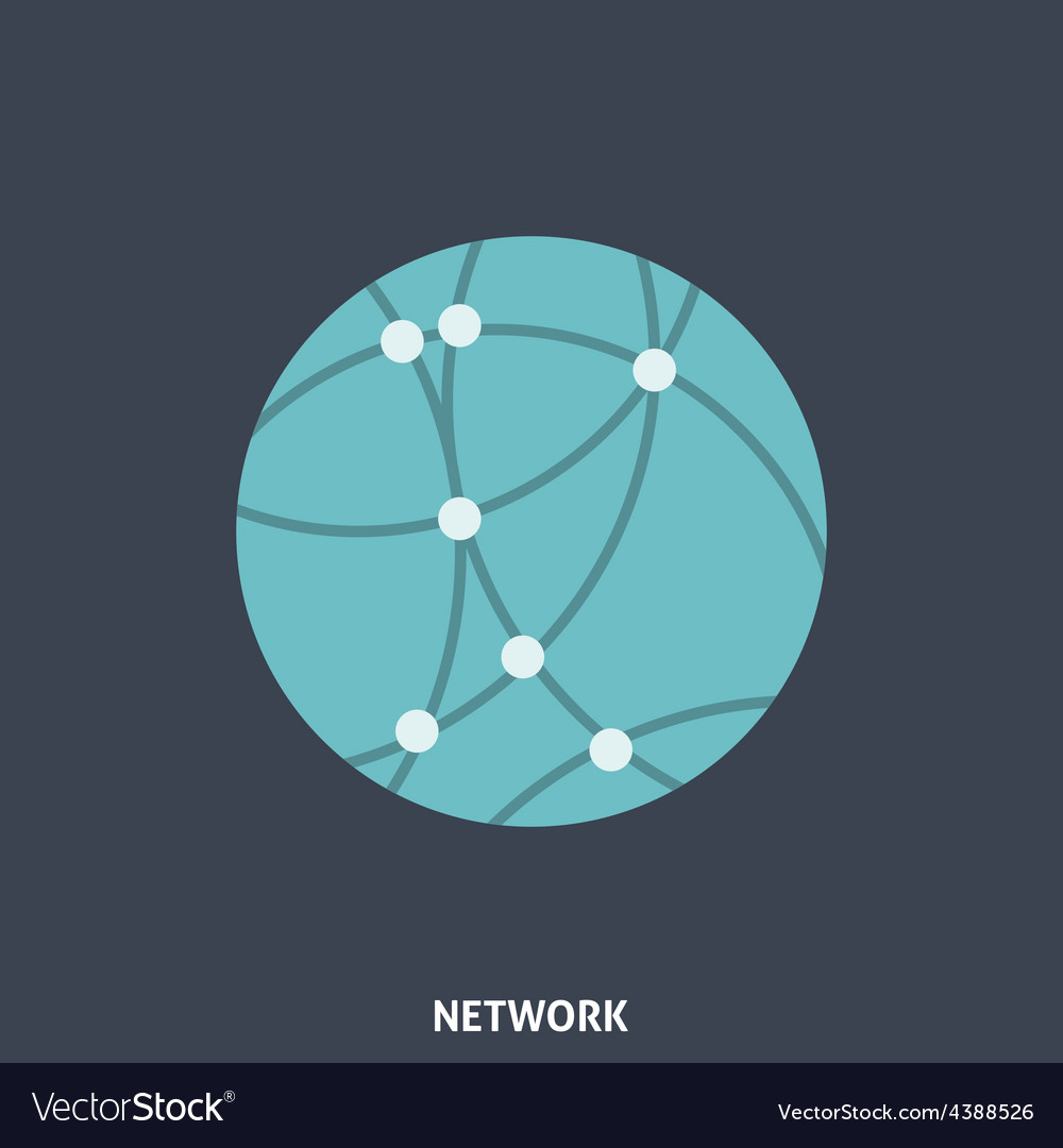 Network Flat Icon