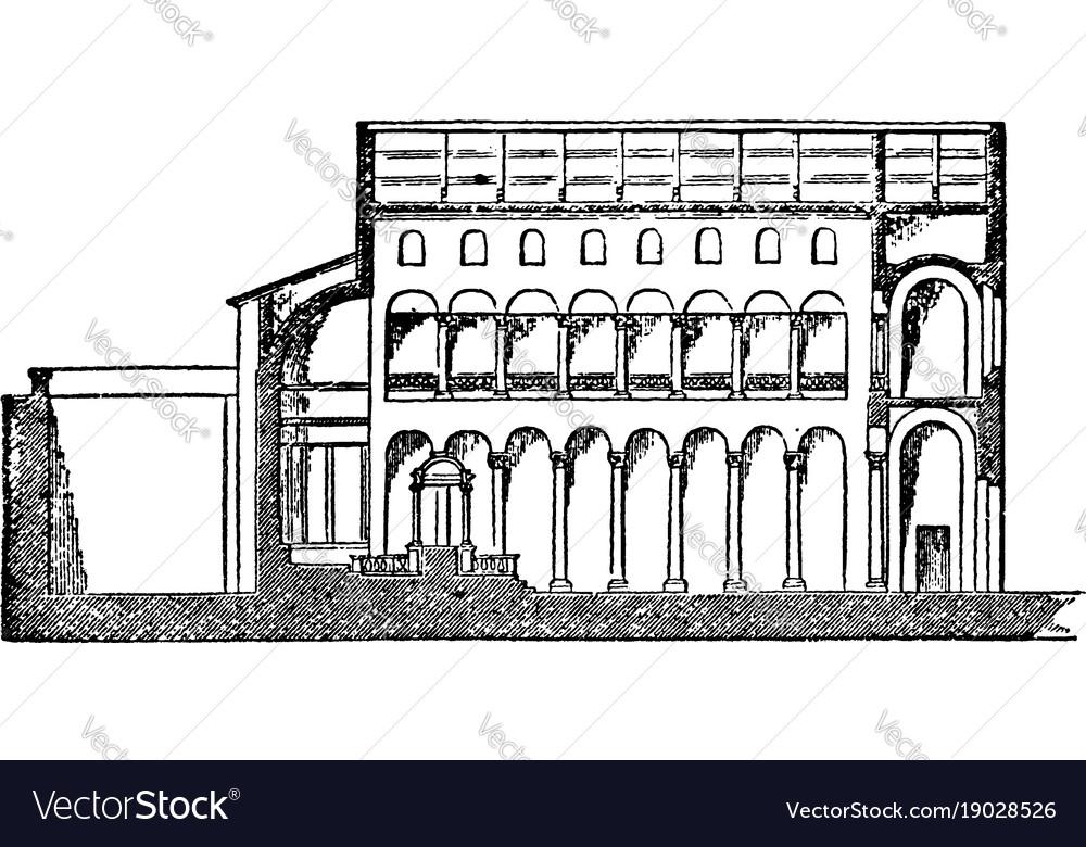 St agnes basilica its a section of basilica faces
