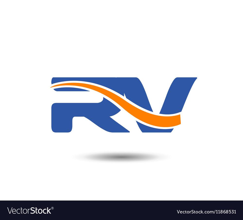 RV company linked letter logo
