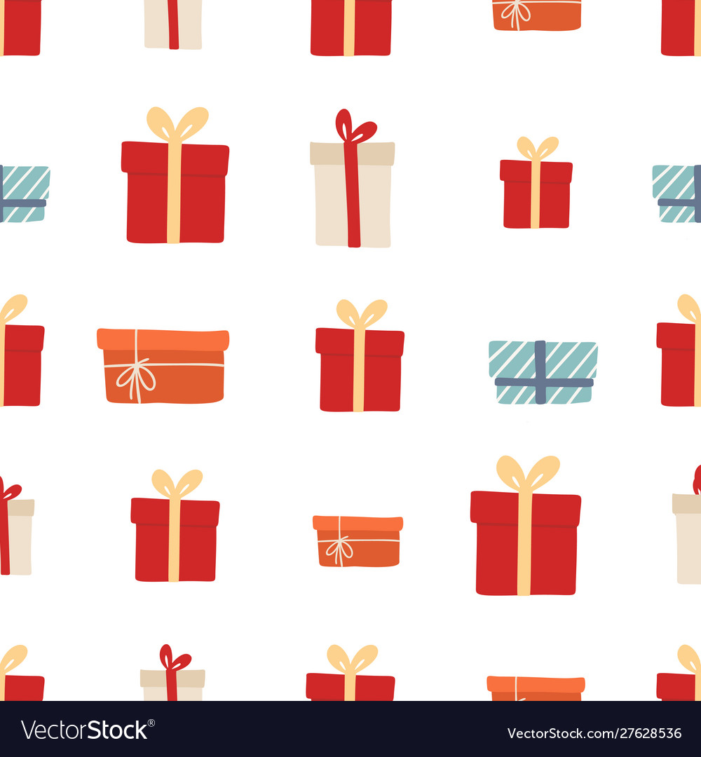 Christmas seamless pattern for background