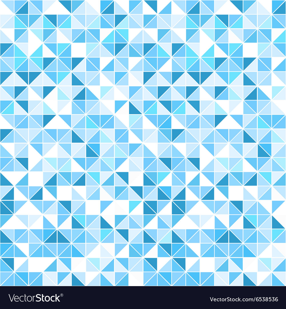 Geometric blue background - seamless