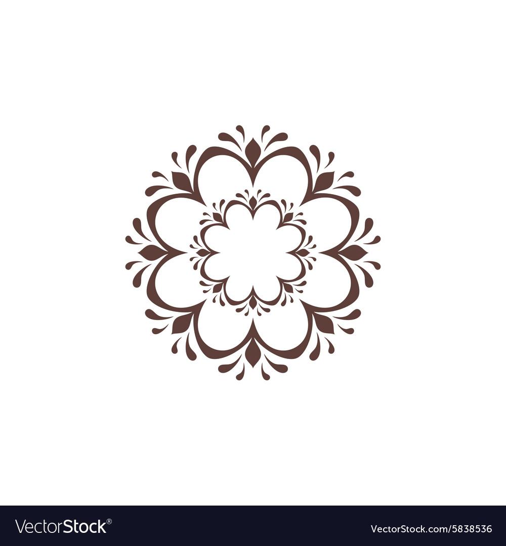Symmetric ornament sign