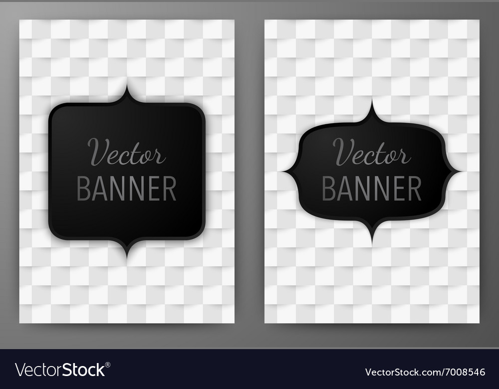 A banner invitations a4 vector image