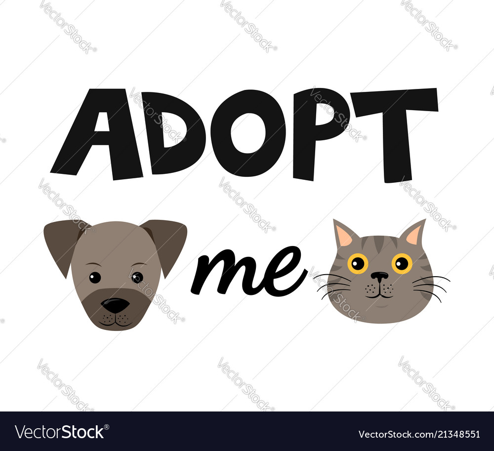 Flat cartoon dog and cat icon design