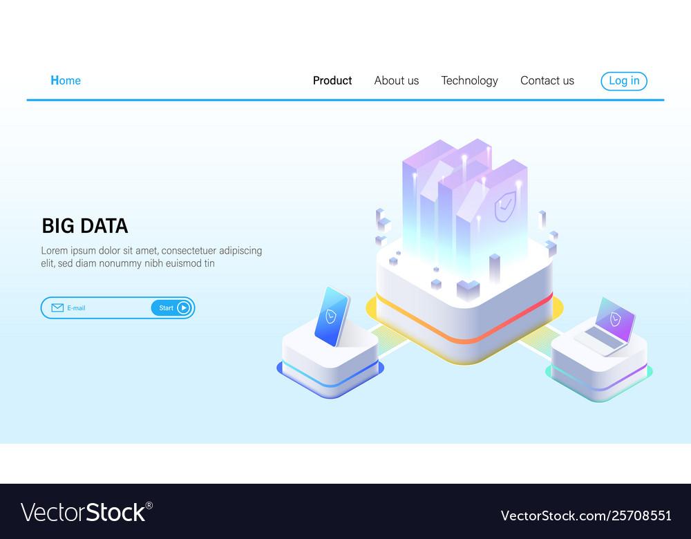 Isometric big data processing and data hosting