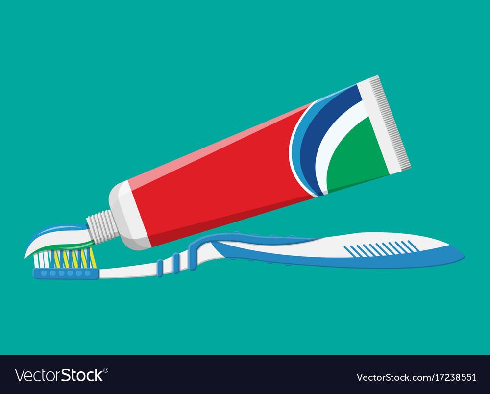 Toothbrush toothpaste brushing teeth