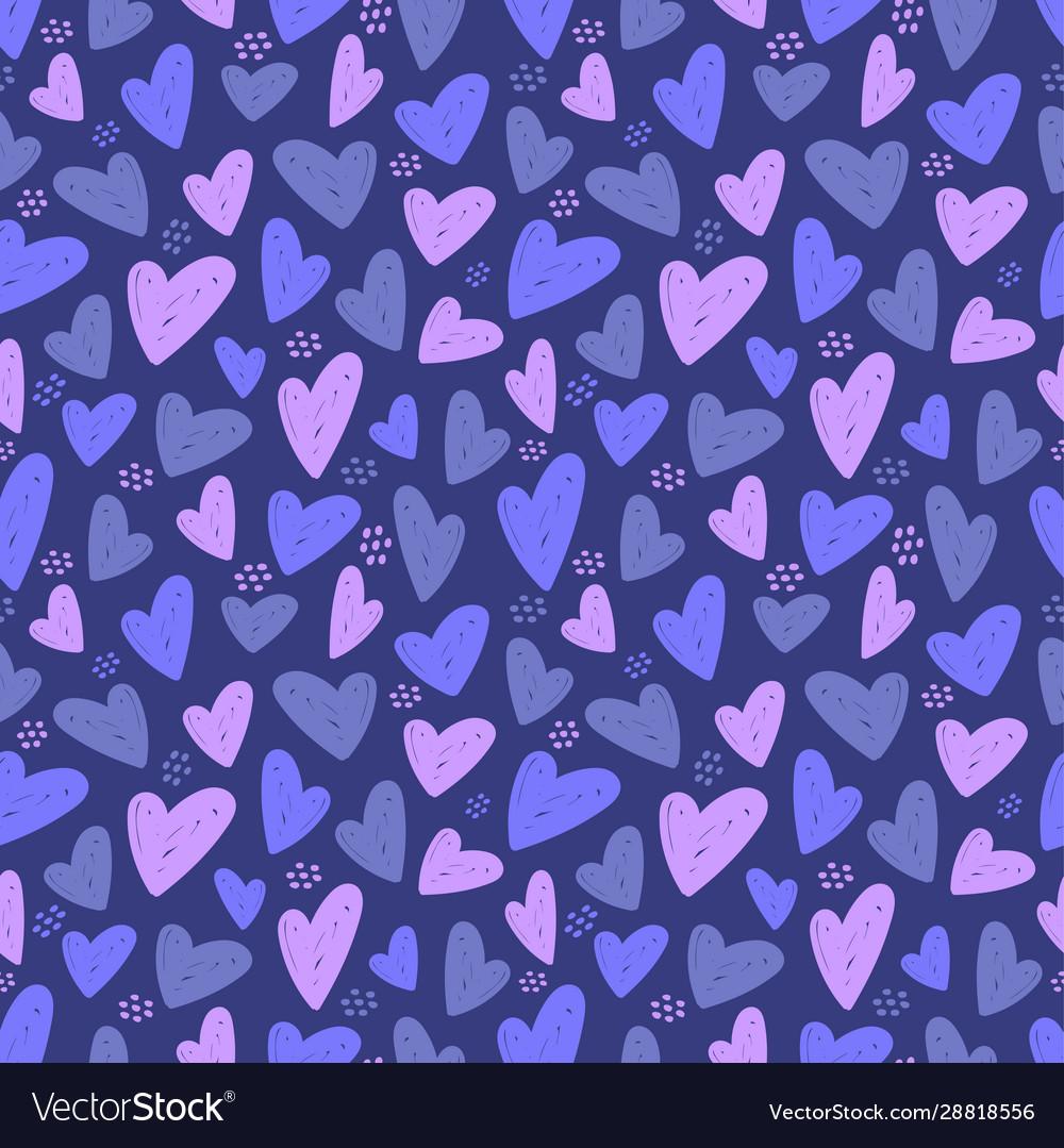 Heart seamless pattern love valentine day mother