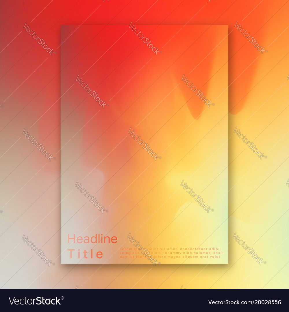 Hologram bright colorful background vector image
