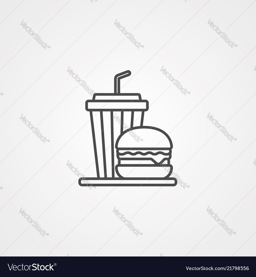 Meal icon sign symbol
