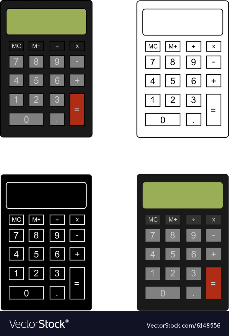 Office calculator set