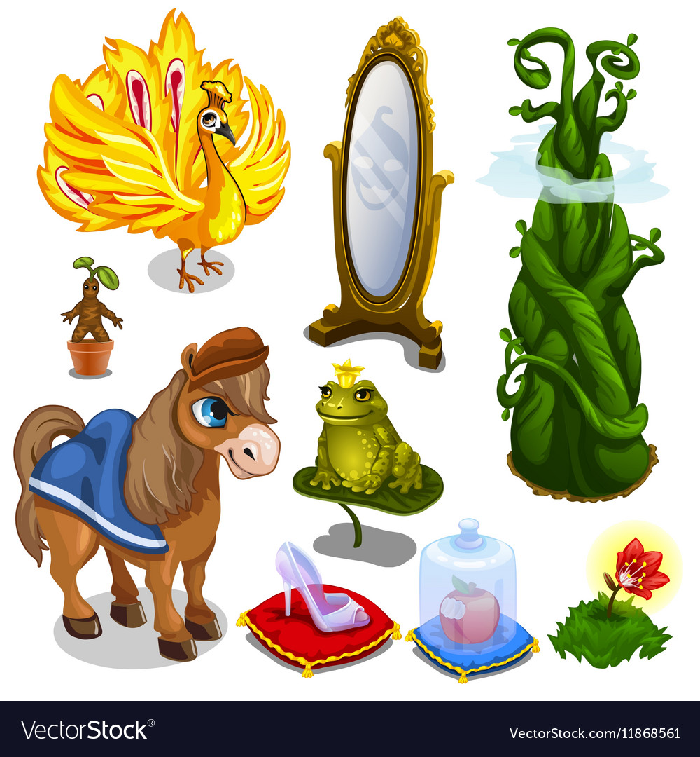 Horse bird frog and magic items