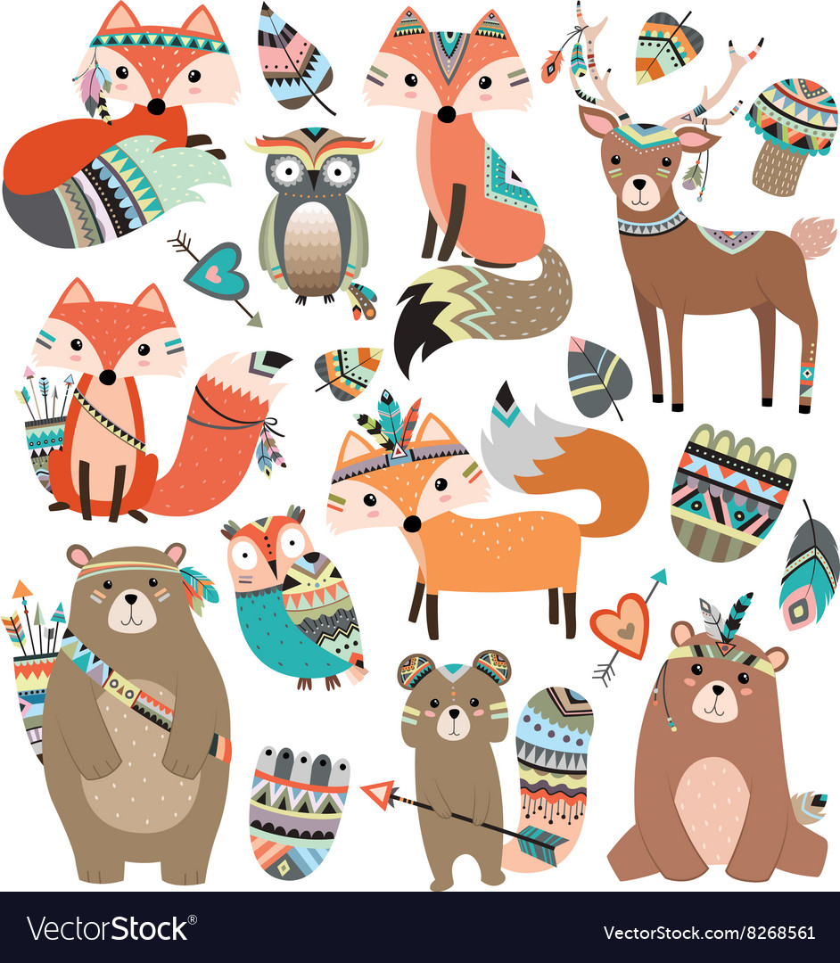 Woodland Tribal Animals Volume 2