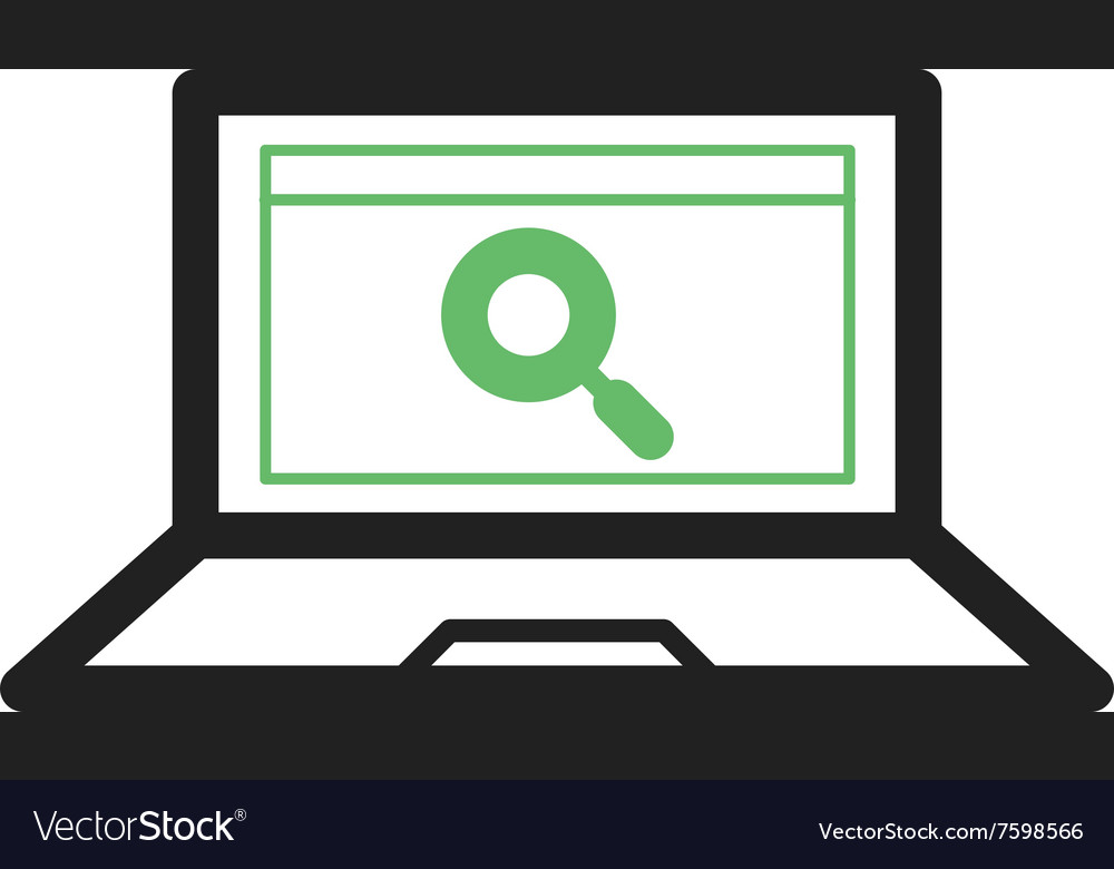 Find on Internet vector image