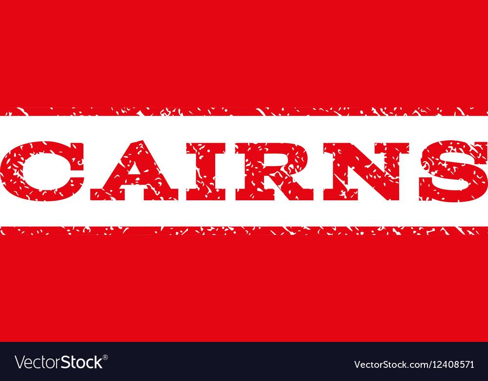 Cairns Watermark Stamp