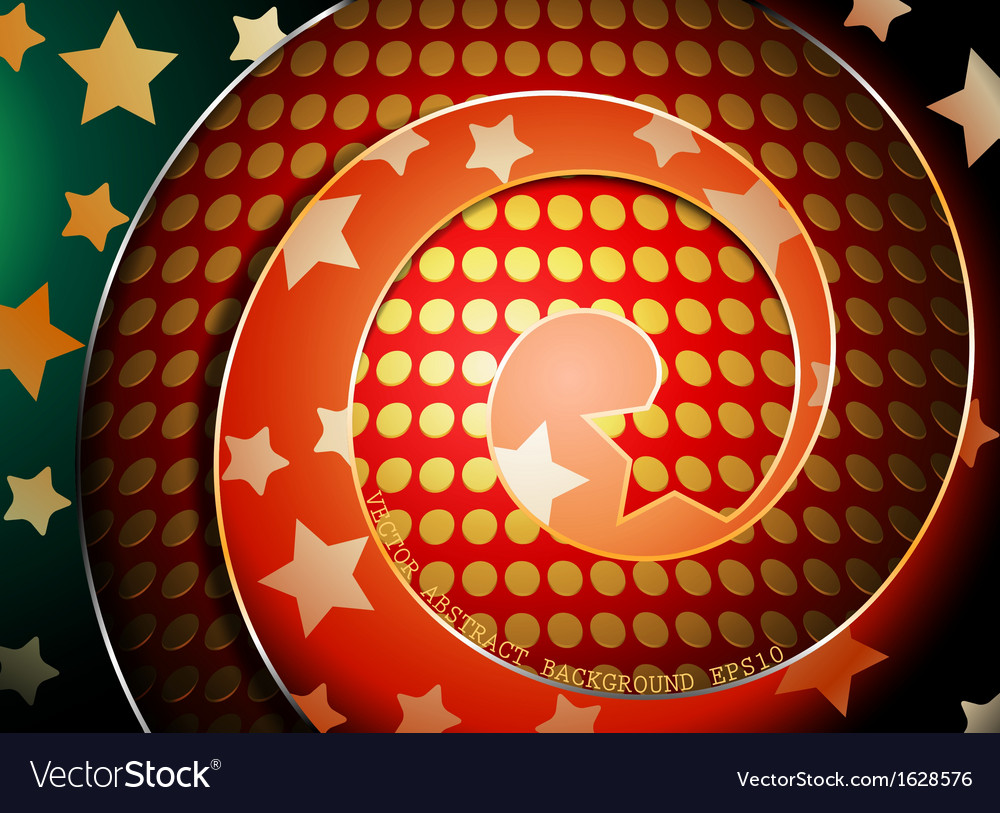 Colorful spiral shaped abstract background