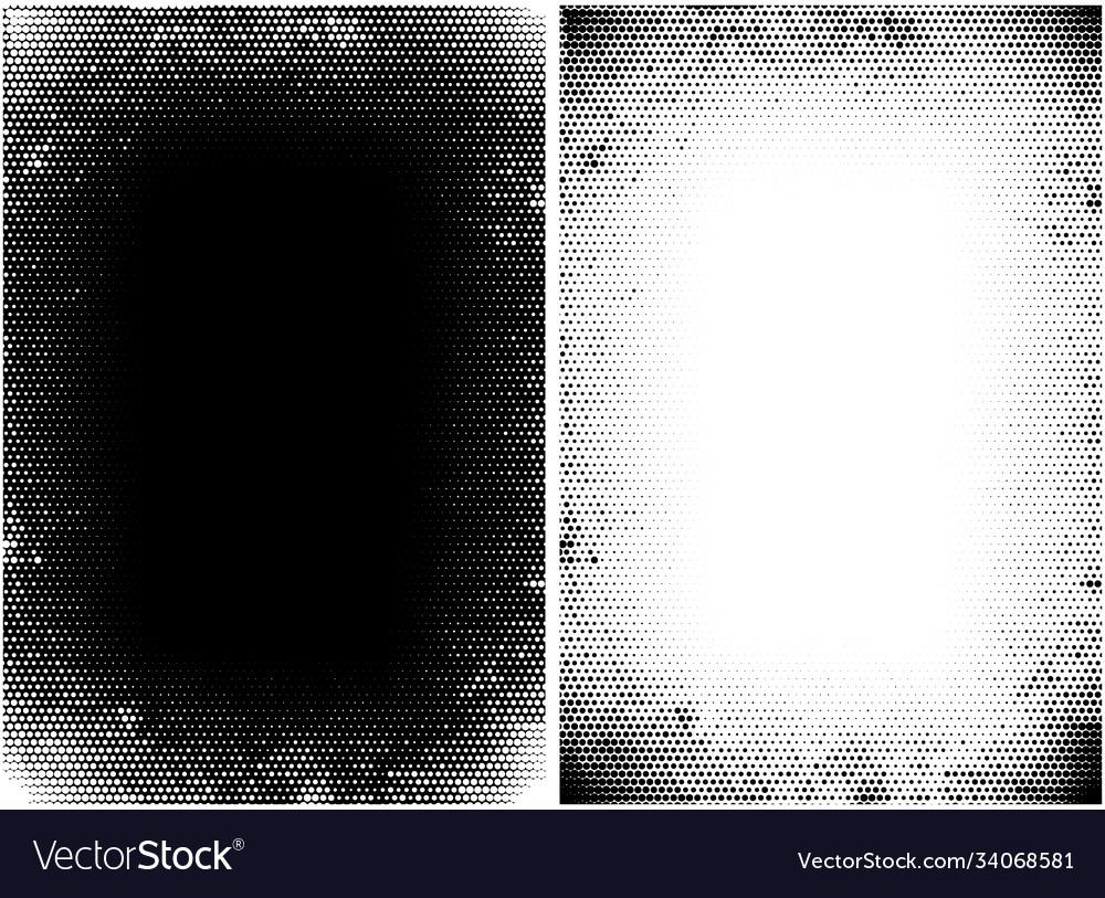 Halftone grunge texture monochrome