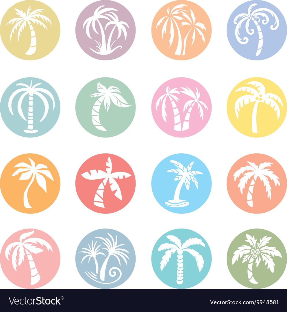 Palm Tree Icons