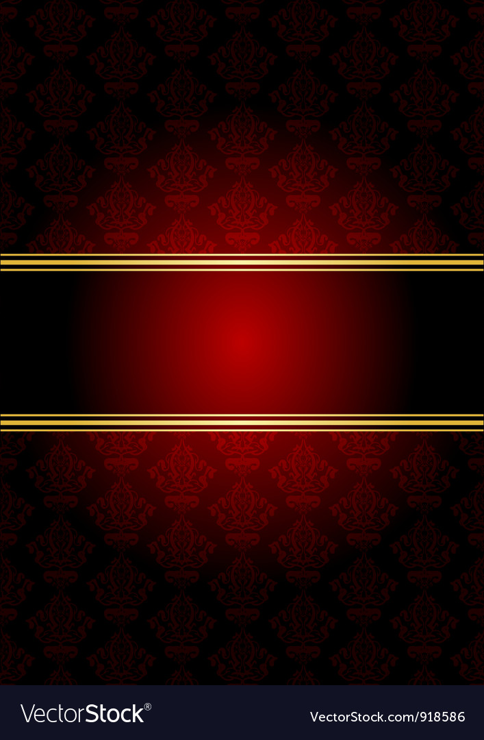 Red gold wallpaper