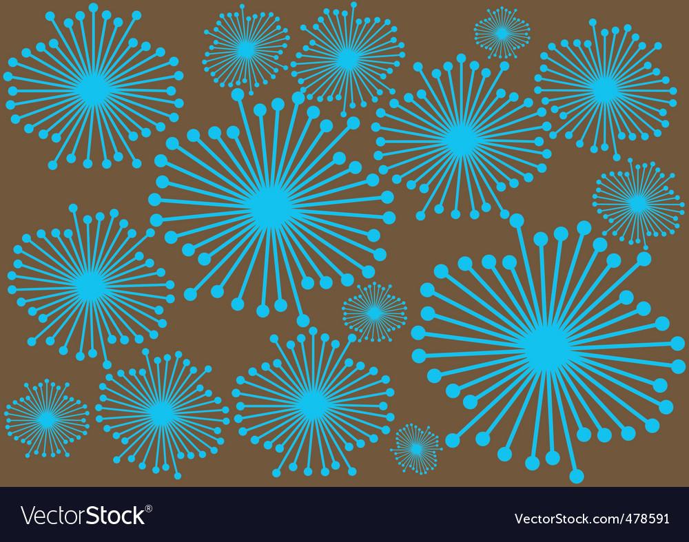 wallpaper vector flower. Abstract Flower Wallpaper