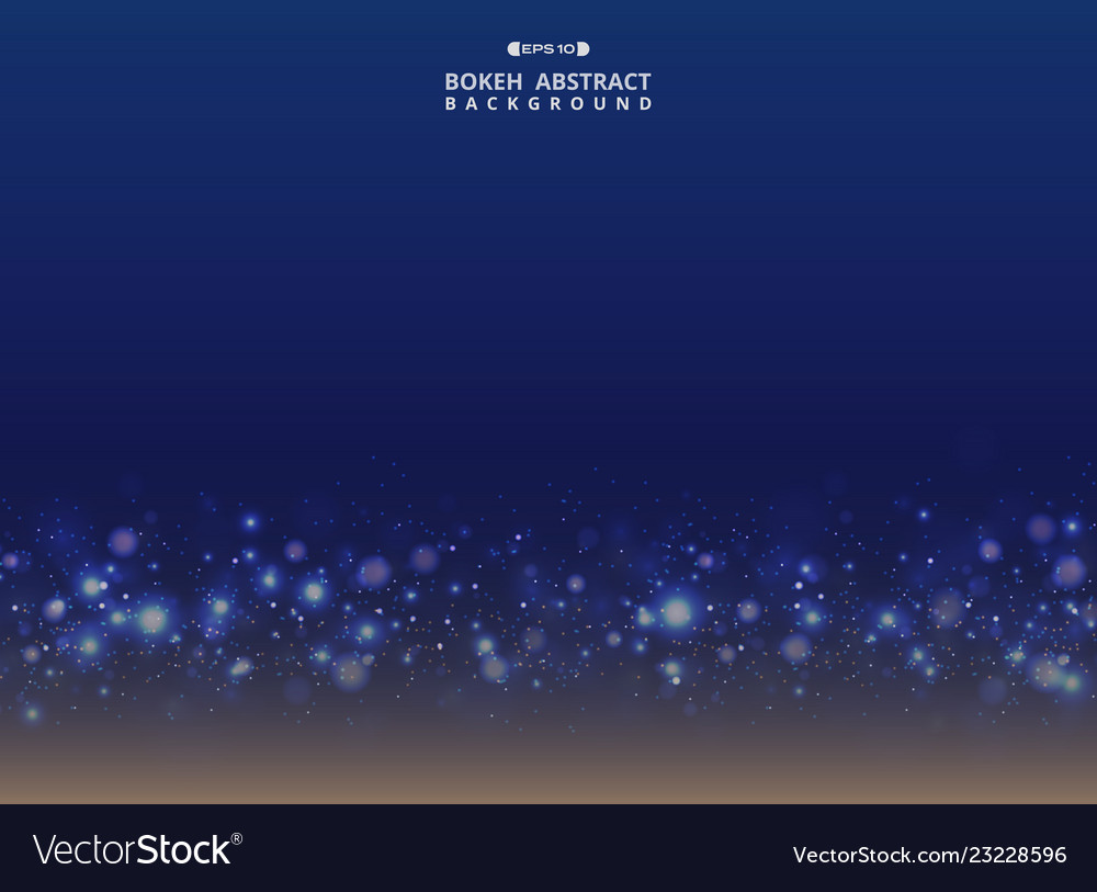 Abstract of art gradient blue with sparkle