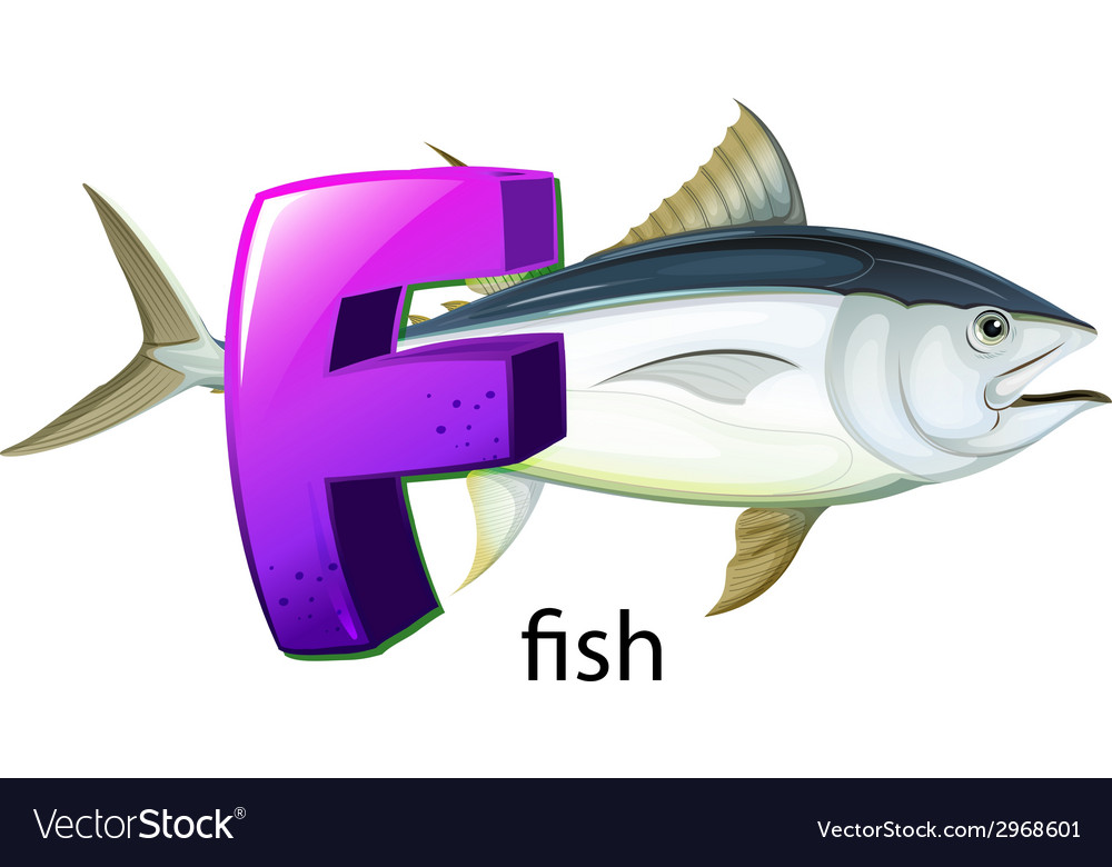 A letter F for fish