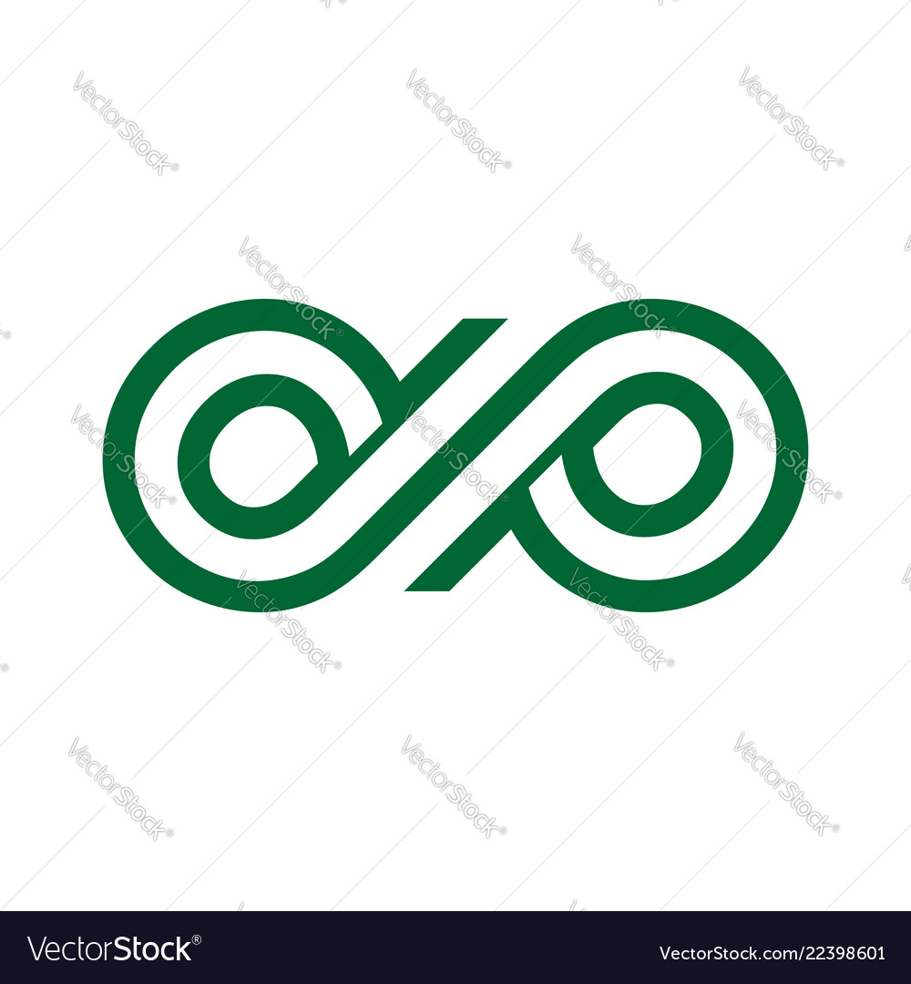 Custom infinite dp lettermark initials unlimited