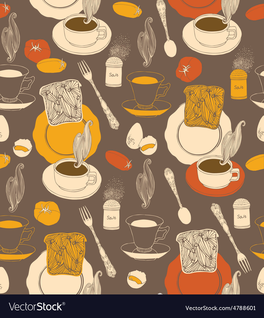 Vintage tea time background