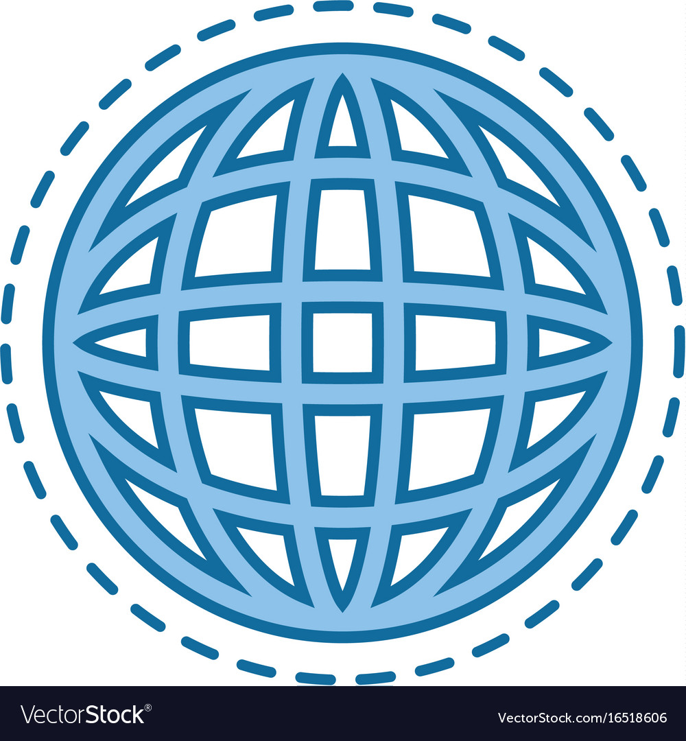 Global sphere icon