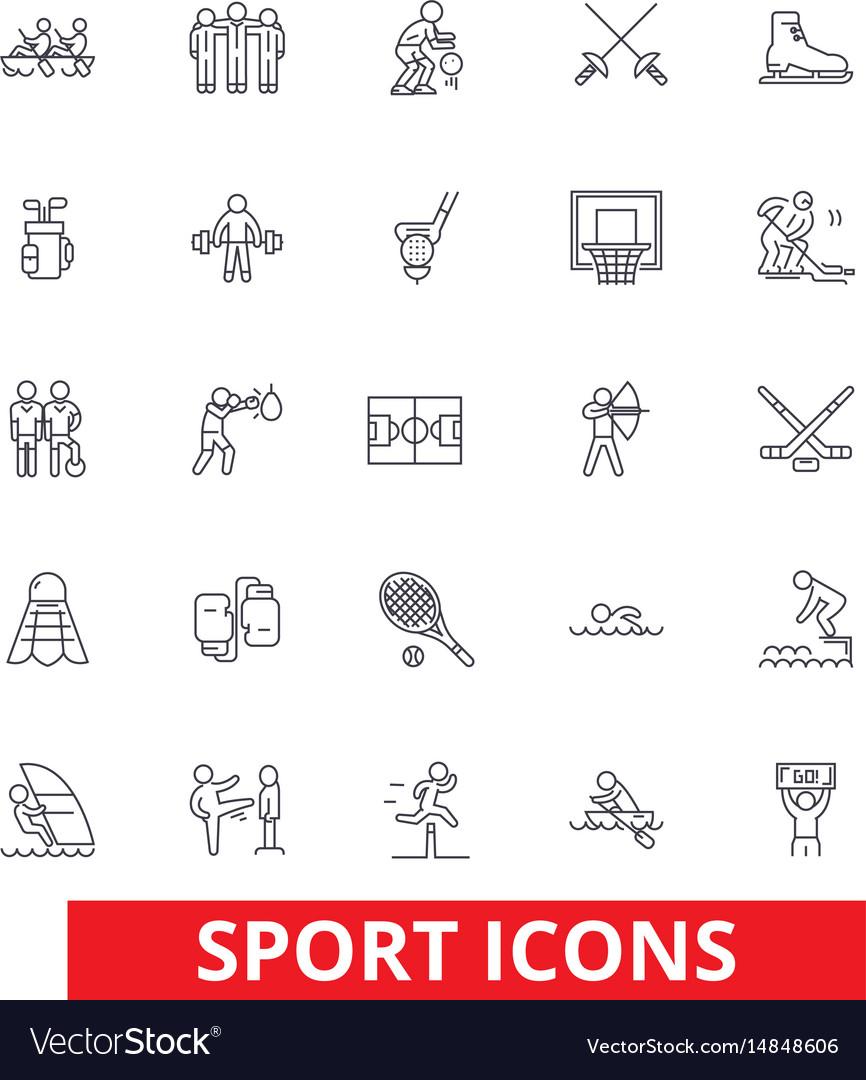 Sport football soccer box hockey running