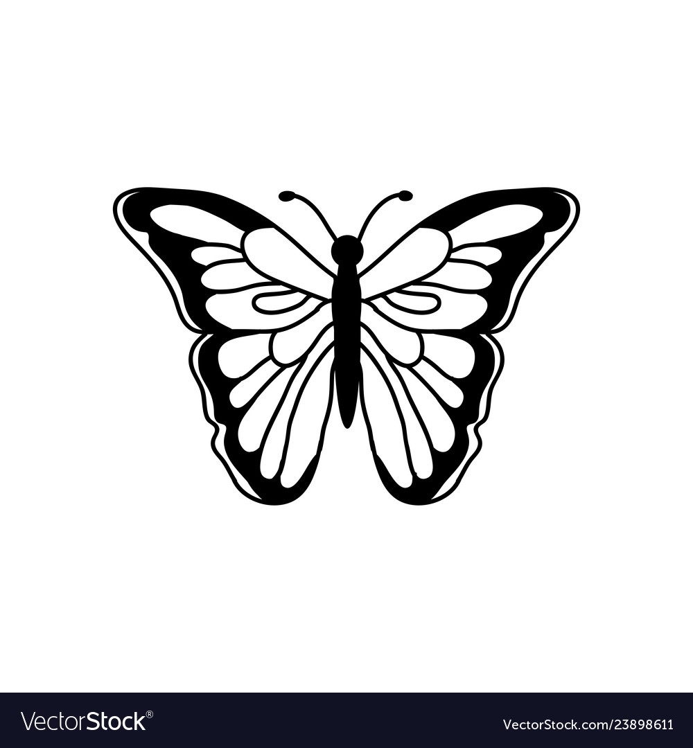 Butterfly beauty business logo