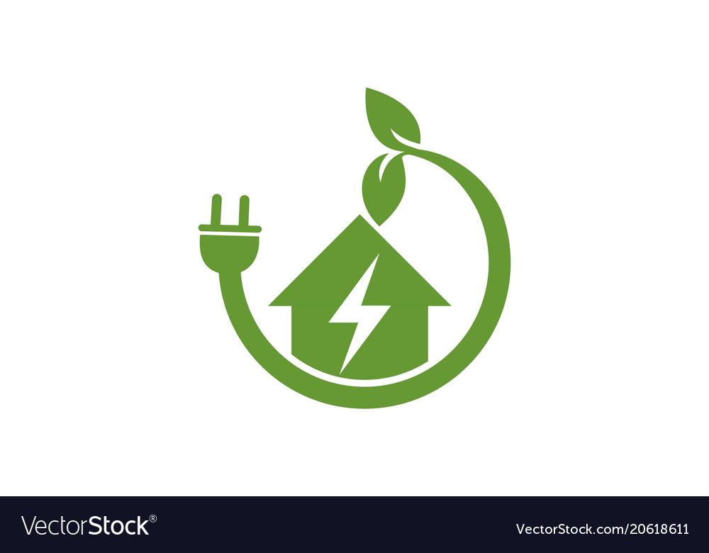 Home green power electric logo