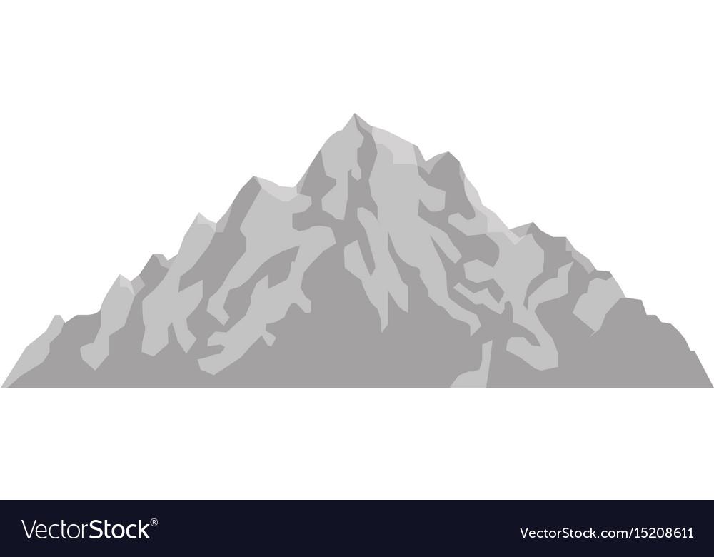 Mountain peak nature high image