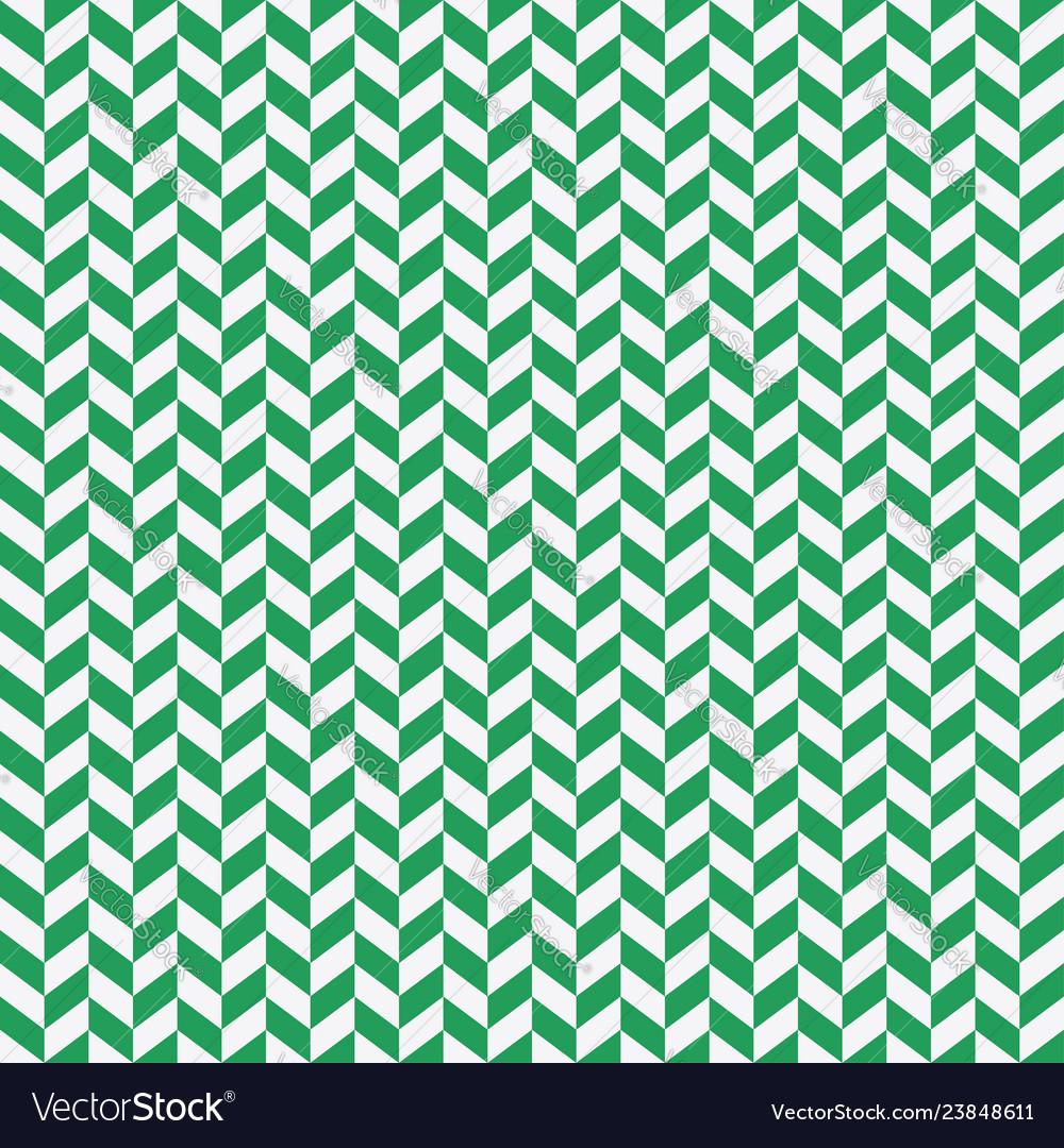 Seamless black and green herringbone pattern