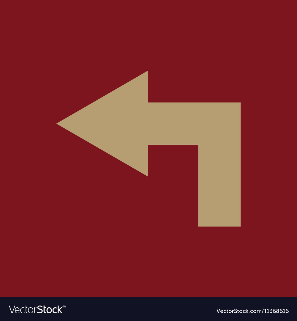 The left icon Direction and arrow navigation