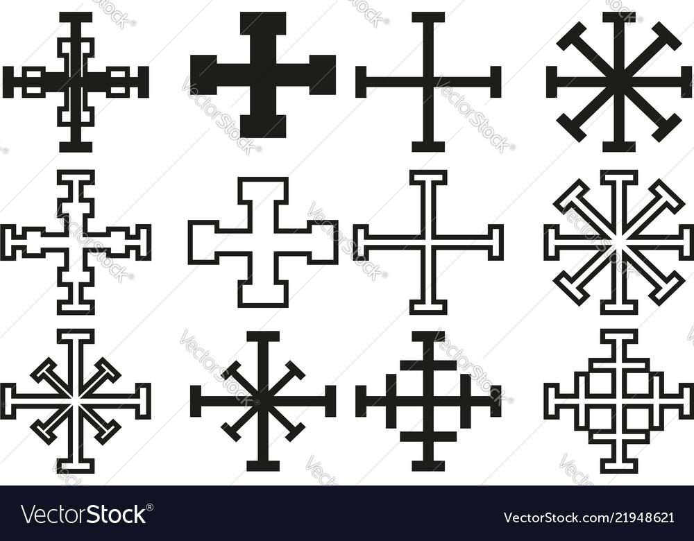 Cross set cross