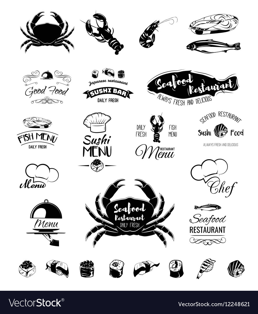 Restaurant menu design Cafe menu cover Seafood