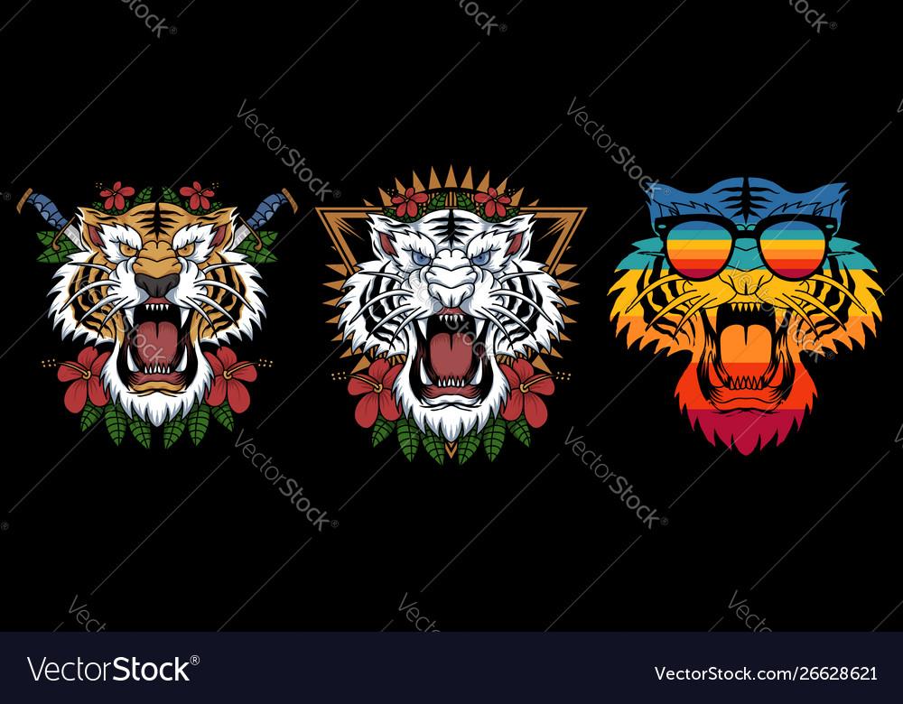 Tiger decoration