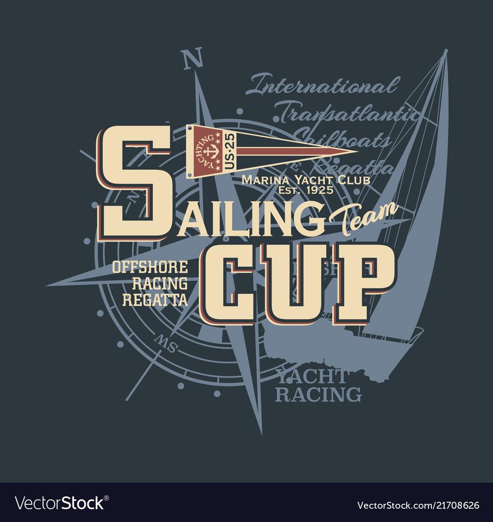 Classic vintage yacht racing sailing regatta