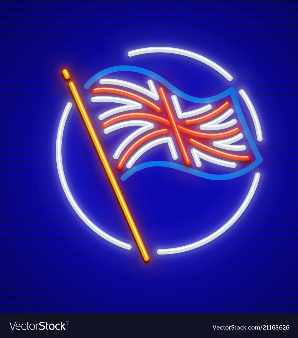 Great britain english flag