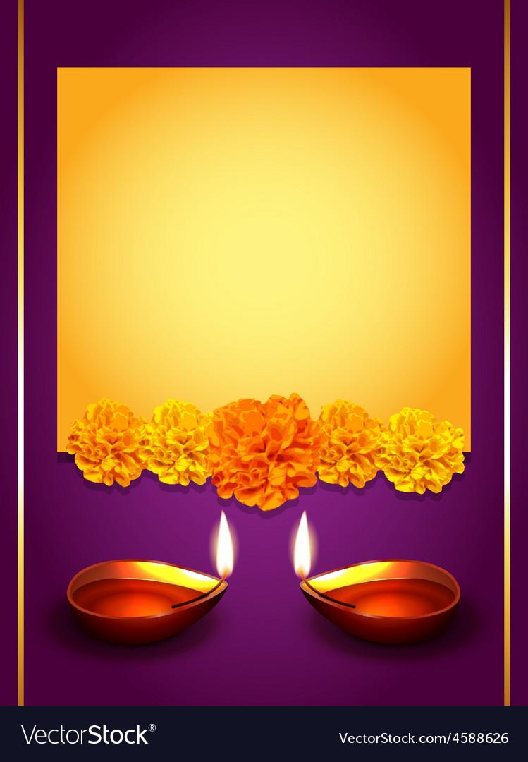 Stylish diwali greeting