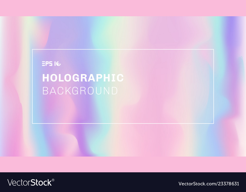 Abstract smooth wave and holographic background