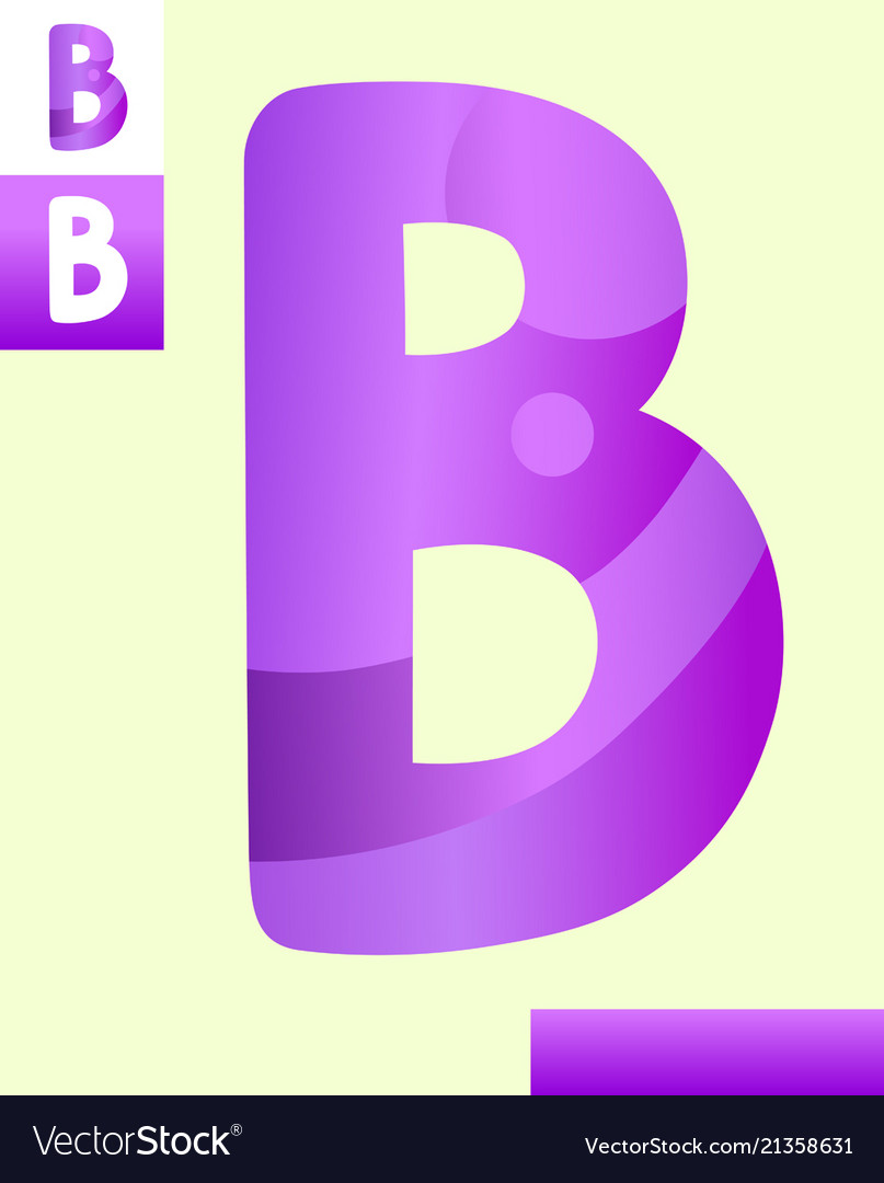 Letter b graphic design