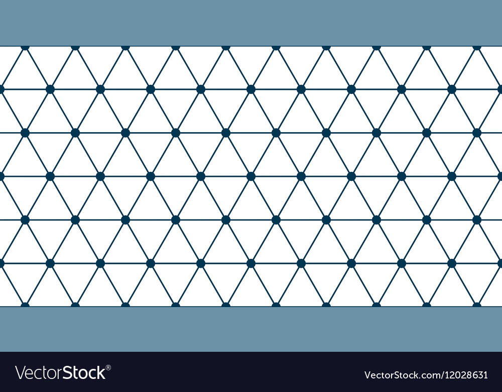 triangle grid seamless royalty free vector image