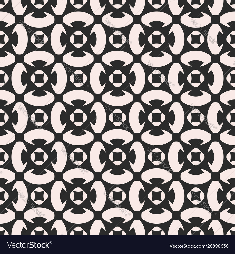Monochrome ornament texture seamless pattern