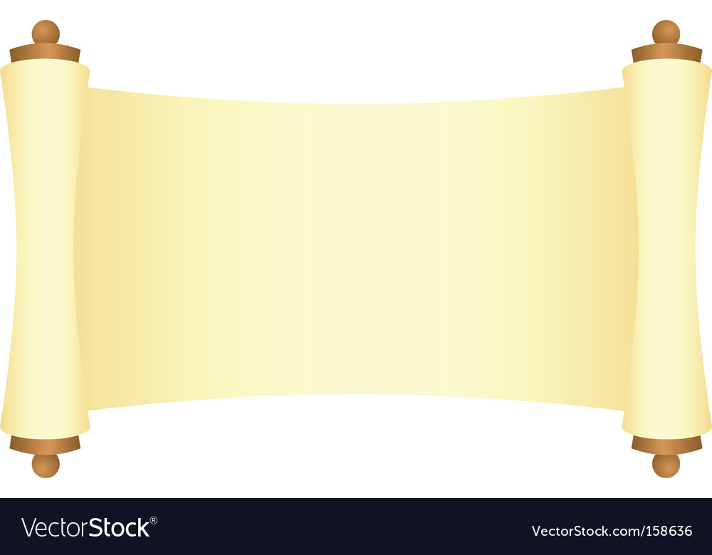 Scroll Vector 158636 By Nete Royalty Free Graphics Clipart 380x400px