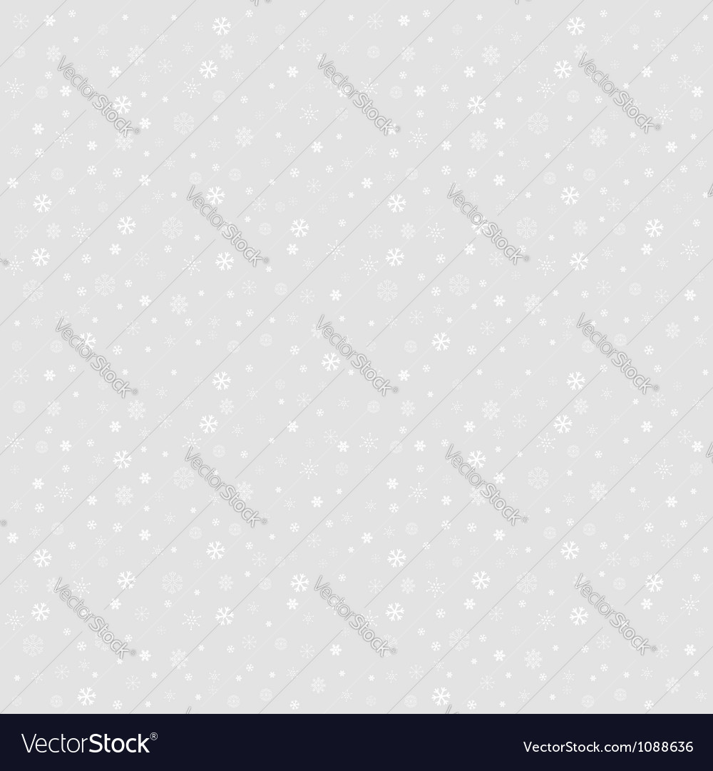 Winter Christmas seamless texture with snowflakes