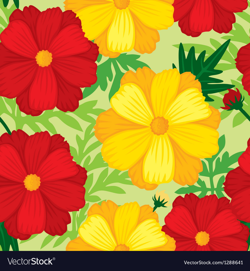 Flower seamless