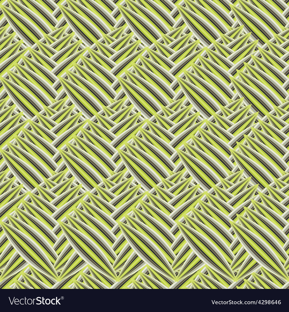 Seamless texture with abstract leaves