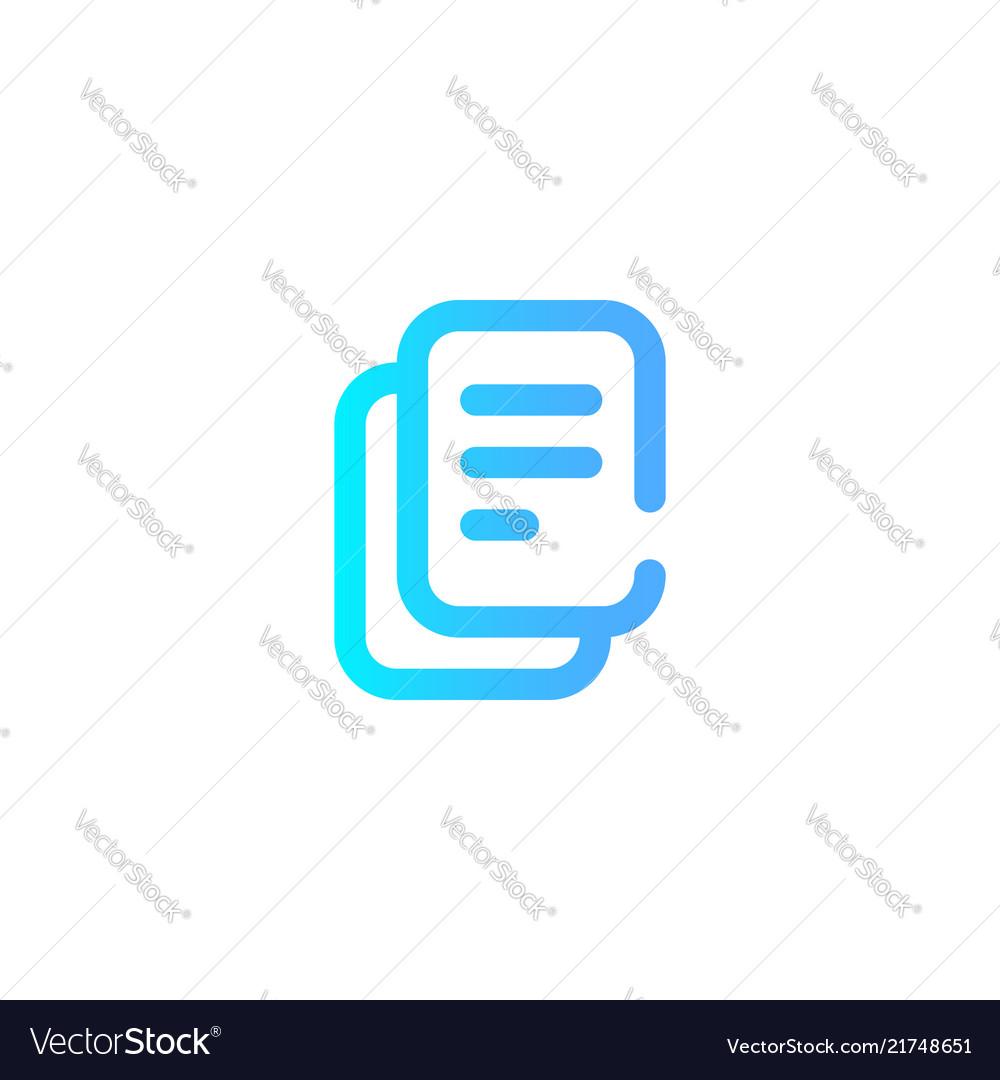 Copy icon sign symbol